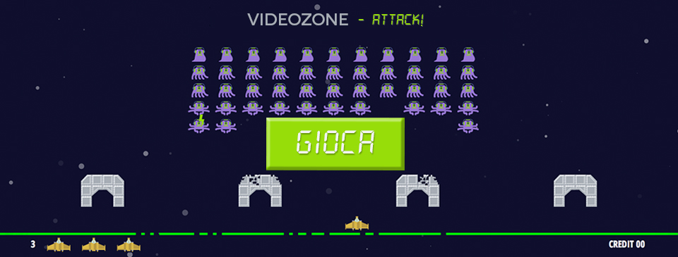 Videozone Attack! - the game